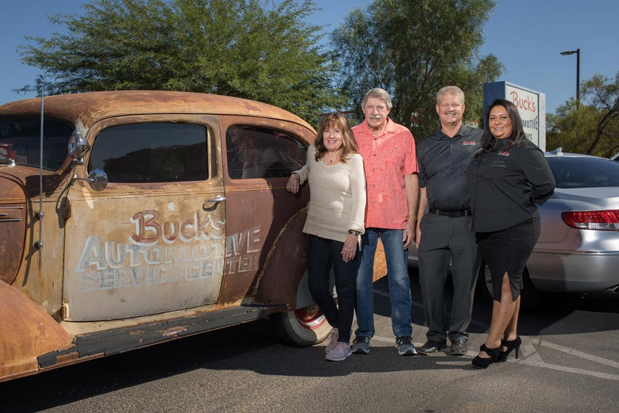 bucks automotive and AAA repair Shop owners